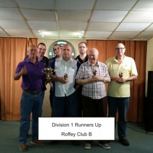 Div 1 Runners Up